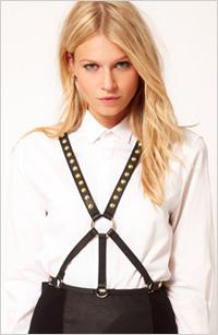 My pick:Stud detail harness belt, $34, ASOS.com