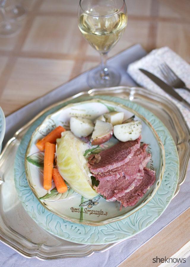 One Pot Slow Cooker Corned Beef Dinner 3