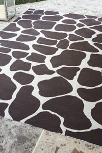 Horchow Nevaeh Spotted Rug