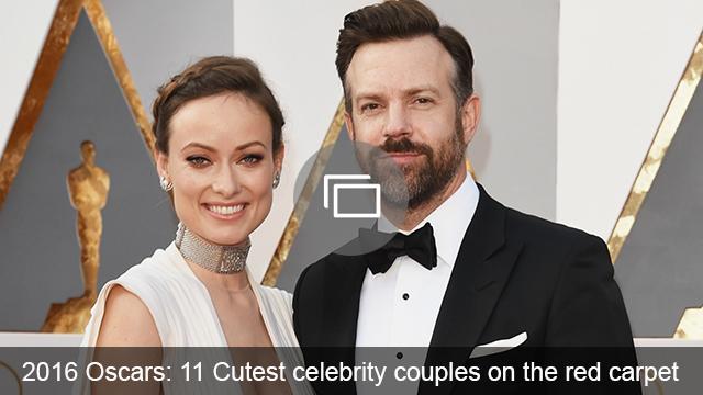 oscars 2016 celeb couples slideshow