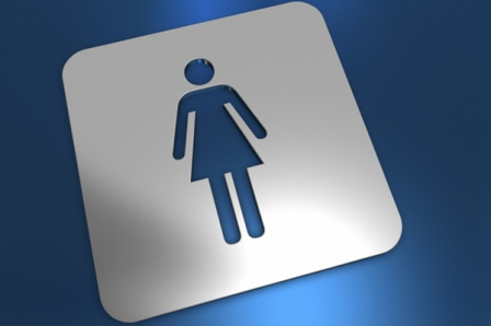 Woman's restroom