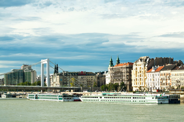 River cruise on Danube river