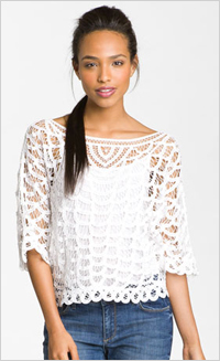 Our pick: Hinge Lace Top, $88, Nordstrom.com