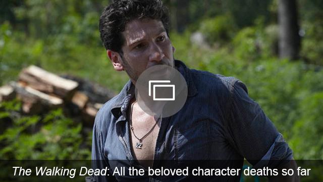Walking Dead deaths slideshow