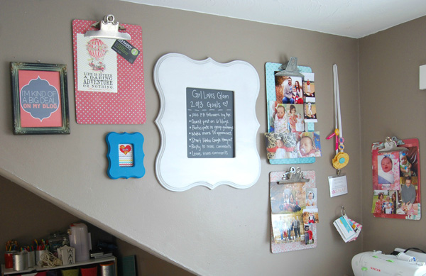 Girl Loves Glam home office
