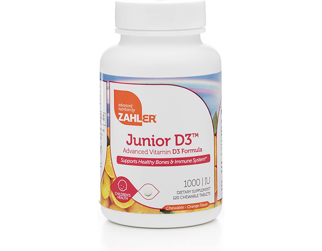 Zahler Best Kid's Vitamin D on Amazon