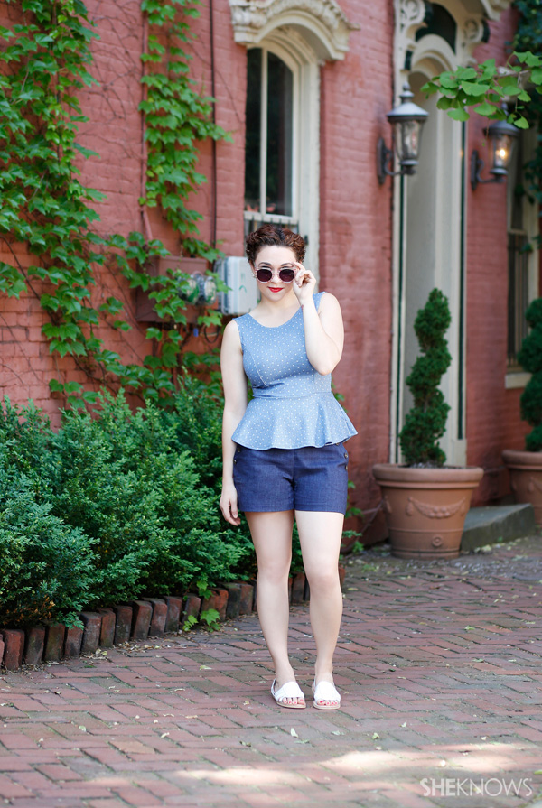 Summer outfit for daytime | SheKnows.com