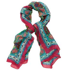 Amazing paisley scarf