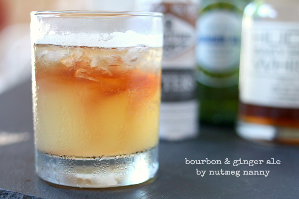 Bourbon & ginger ale