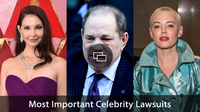 Harvey Weinstein, Ashley Judd, Rose Mcgowan
