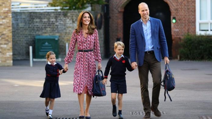 Kate Middleton, Prince William, Prince George,