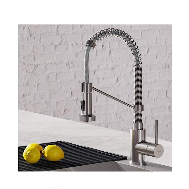 Kraus Bolden 18-Inch Commercial Kitchen Faucet