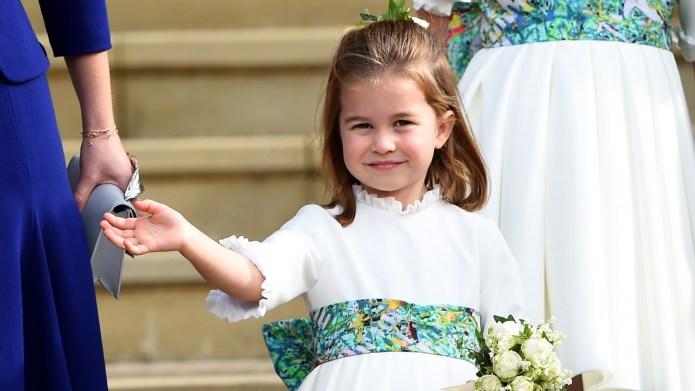 princess charlotte white dress