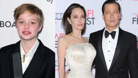 Shiloh Jolie-Pitt, Brad Pitt, Angelina Jolie