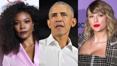Gabrielle Union, Barack Obama, Taylor Swift