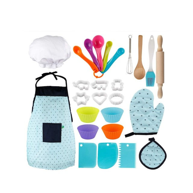 Vanmor Kids Basic Cooking and Baking Set