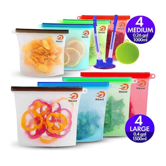 ZESSTI Reusable Silicone Food Bag