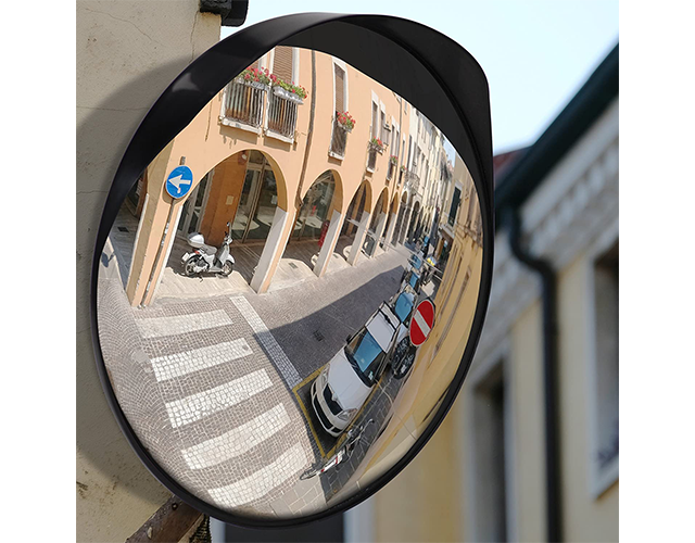Adjustable convex mirror best wall safety mirror on Amazon