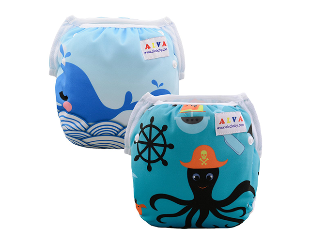 Alvababy best reusable swim diapers on Amazon