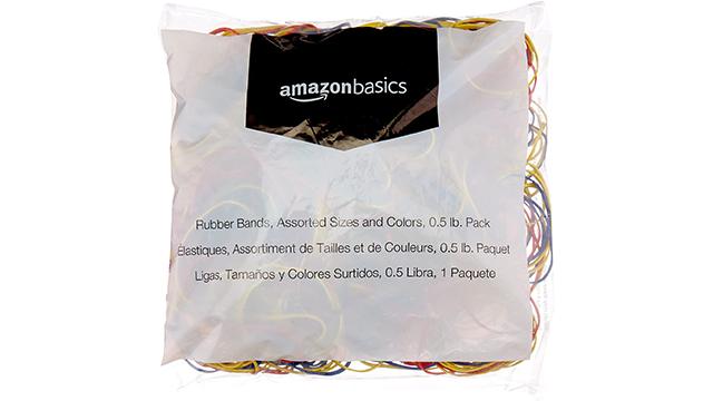 Amazon Basics best rubber band on Amazon