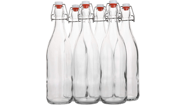 Ayl best swingtop bottle ceramic with lid on Amazon