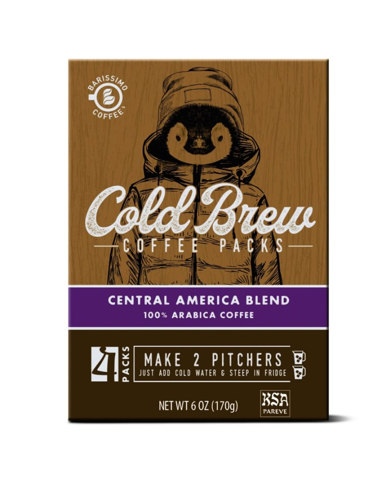 Barissimo cold brew coffee packs