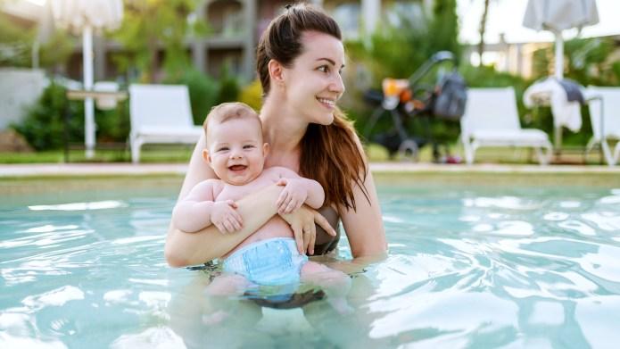 Best reusable swim diapers on Amazon