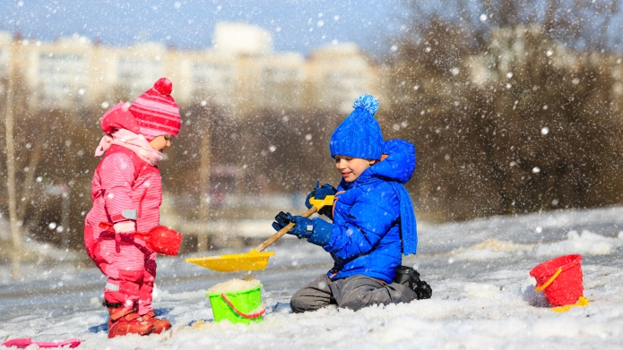 Best snow toys for kids on
