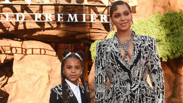 Blue Ivy Channels Mom Beyonce As