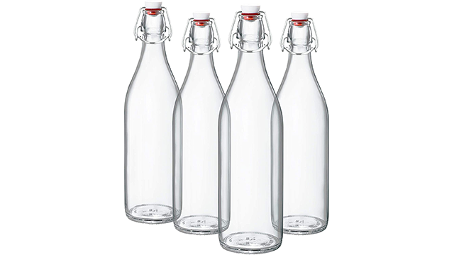 Bormioli best swingtop bottle with ceramic lid on Amazon