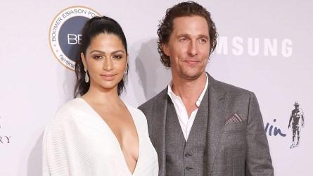 Matthew McConaughey's Wife Camila Shares Rare
