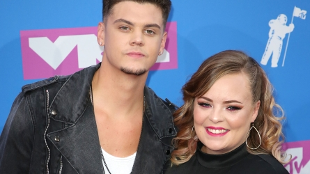 Tyler Baltierra and Catelynn Lowell at