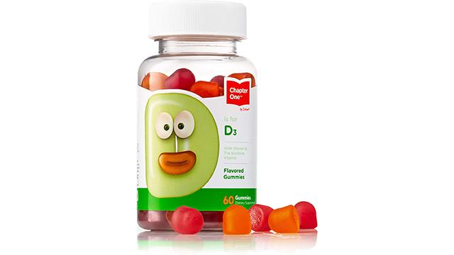 Chapter One best kids vitamin d gummies on Amazon