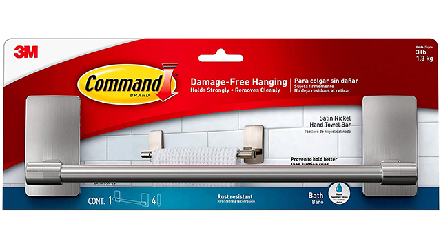 Command best towel bar on Amazon