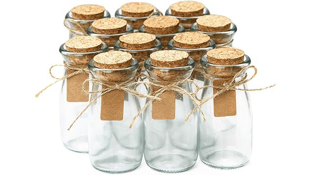 Cucumi Apothecary Jars with Lid on Amazon