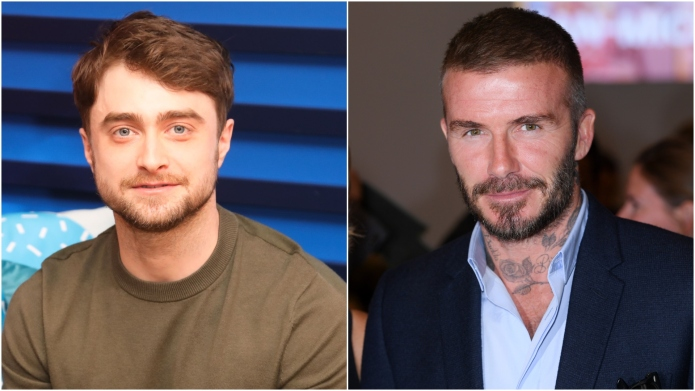 Daniel Radcliffe & David Beckham Are