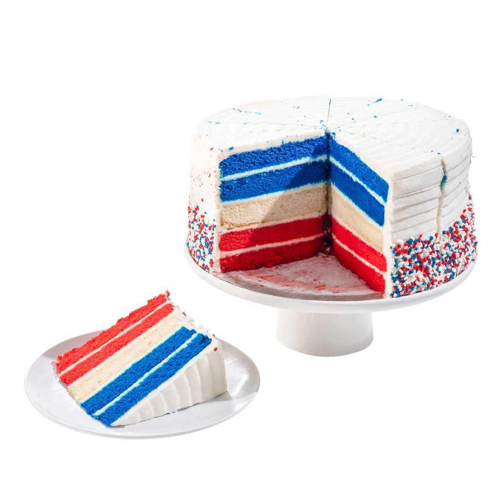 Costco Patriotic Cake