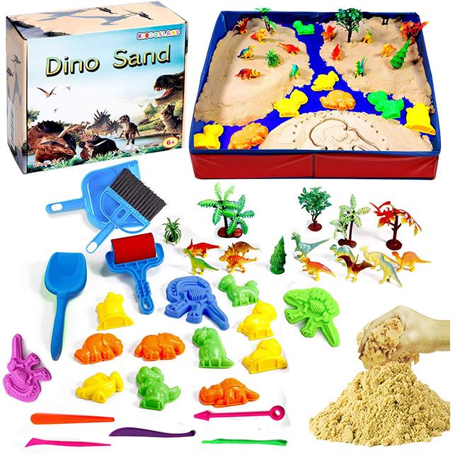 Dino Sand best kinetic sand kit on Amazon