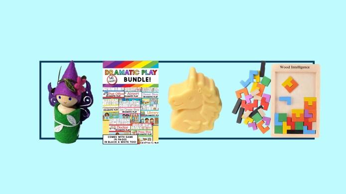 Craft kids for kids on Etsy