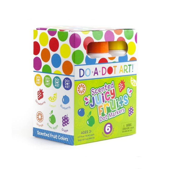 Do A Dot Art Fruit Scented Washable Dot Markers
