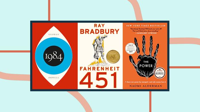 '1984' 'Fahrenheit 451' 'The Power' book