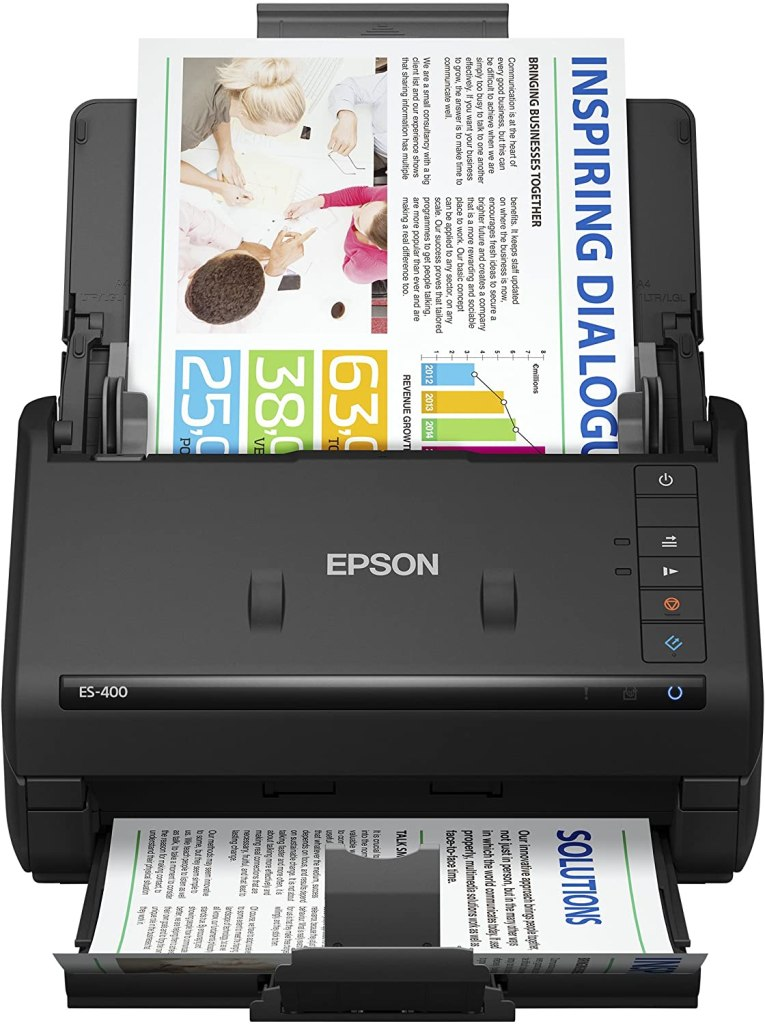 Epson Best Page Scanner on Amazon
