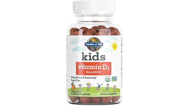 Garden of Life best kids vitamin d on Amazon