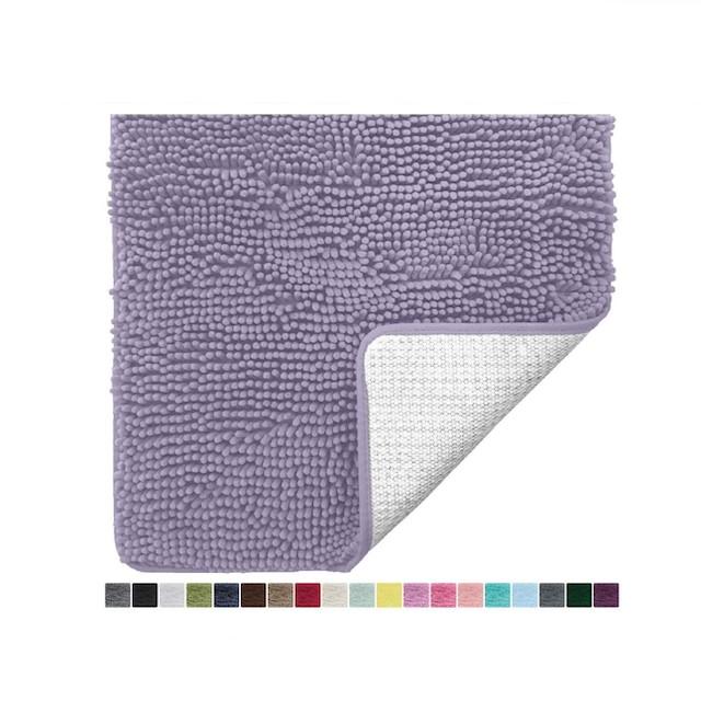 Gorilla Grip Original Luxury Chenille Bathroom Mat