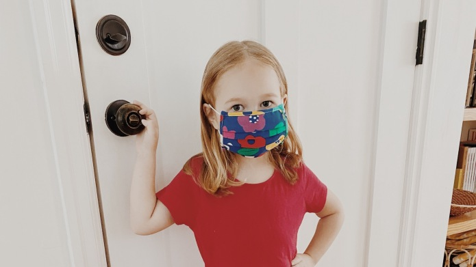 Hanna Andersson Kids face masks