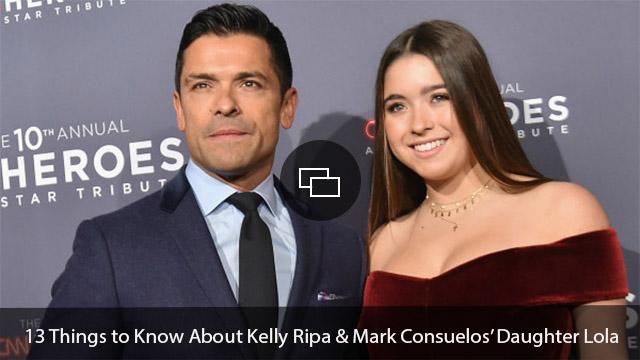 Mark Consuelos, Lola Consuelos
