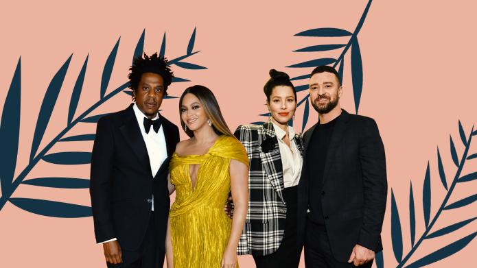 Beyoncé, Jay-Z, Jessica Biel, Justin Timberlake