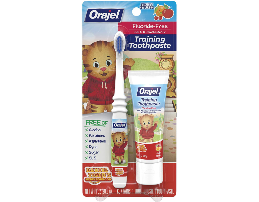 Orajel Best Baby Toothbrush Toothpaste on Amazon
