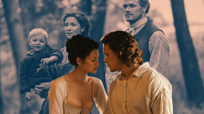 'Outlander' stars Caitriona Balfe and Sam Heughan
