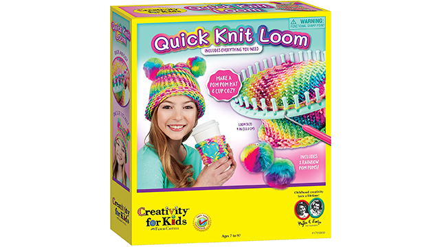Quick knit loom best knitting kit for kids on Amazon